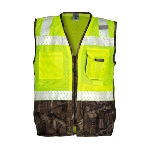 ML Kishigo 1523 Premium Brilliant Series Heavy Duty Lime Vest
