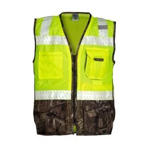 ML Kishigo 1523 Premium Brilliant Series Heavy Duty Lime Vest