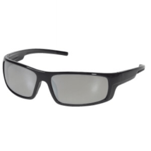 INOX 1724SM Enforcer Silver Mirror Lens With Black Frame