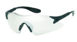 INOX 1738C Dasher Clear Lens Black Frame