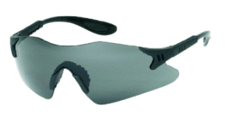 INOX 1738G Dasher Gray Lens Black Frame