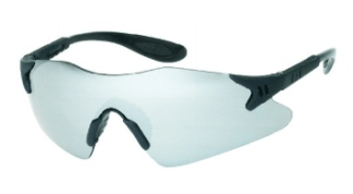 INOX 1738SM Dasher Silver Mirror Lens Black Frame
