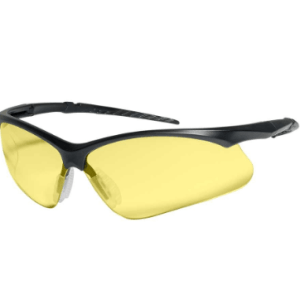 INOX 1757A Roadster II Amber Lens with Black Frame