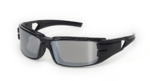 INOX 1772T Trooper  Indoor/Outdoor Lens (anti-fog) With Black Frame