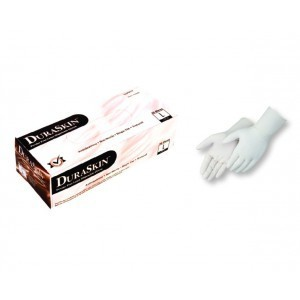 2830HR Medical Grade Examination High Risk 10 Mil Powdered Free White Latex Gloves 50/Box, 10Box Per Case