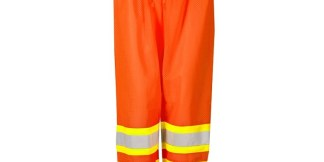 ML Kishigo 3116 Class E Orange Contrasting Mesh Pants
