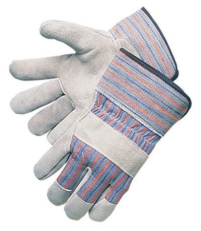 MCR 12010 Economy Leather Palm Gloves, Dozen