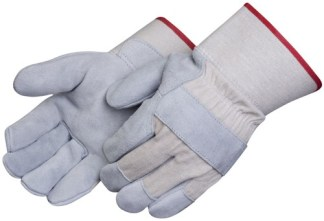 Liberty Gloves 3277 Canvas Back Regular Leather Palm Glove, Dozen