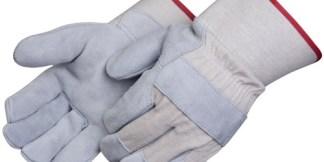 Liberty Gloves 3277 Canvas Back Regular Leather Palm Glove, Dozen