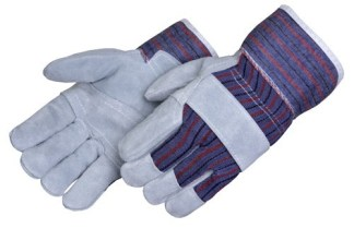 Liberty Gloves 3280 Standard Leather With Reinforced Palm Patch Glove and Starched Cuff, Dozen