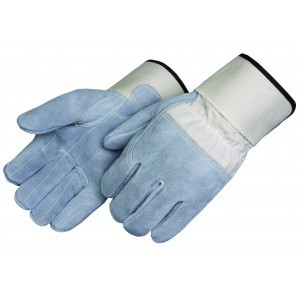 Liberty Gloves 3310 Kevlar Sewn 3/4 inch Leather Back Side Split Leather Palm & Fingers, Dozen