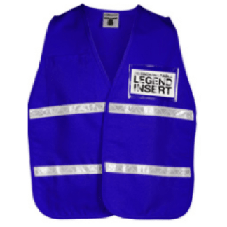 ML Kishigo 3704i Royal Blue Incident Command Vest