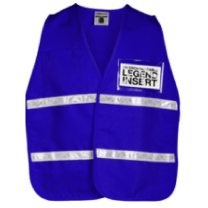ML Kishigo 3704i Royal Blue Incident Command Vest