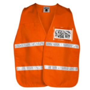 ML Kishigo 3707i International Orange Incident Command Vest