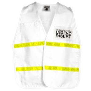 ML Kishigo 3711i White Incident Command Vest