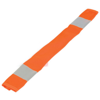 ML Kishigo 3900 Orange Dual Stripe Seat Belt Covers