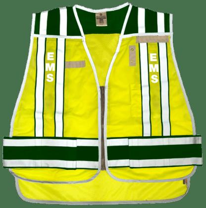 MLK 4006BZ Green/EMS Class 2 vest