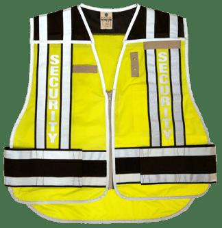 MLK 4007BZ Black/Security Class 2 Vest