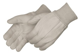 4510CR Heavy Duty 10oz Corduroy Cotton Canvas Gloves, Dozen