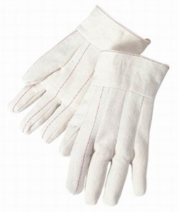 4531 Double Palm 20oz Cotton Canvas Band Top Glove, Dozen