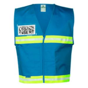 ML Kishigo 4709 Light Blue Incident Command Vest