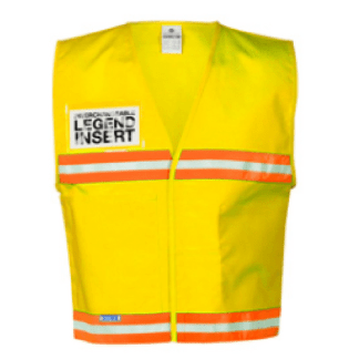 ML Kishigo 4710 Yellow Incident Command Vest