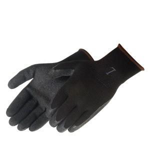 Liberty Gloves 4729BK  A-Grip Black Latex Coated Palm Glove, Dozen