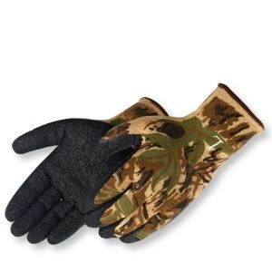 Liberty Gloves 4729CA  A-Grip Black Latex Coated Palm Glove, Dozen