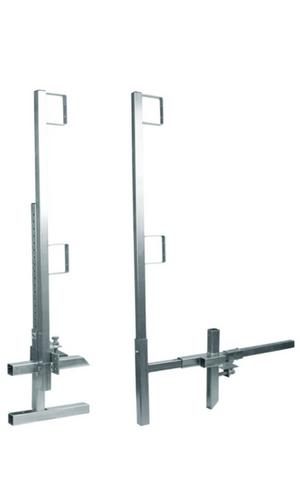 "Falltech 604042250 Guardrail Post/Clamp Set 42"" Edge/Wall 50 Post Set"
