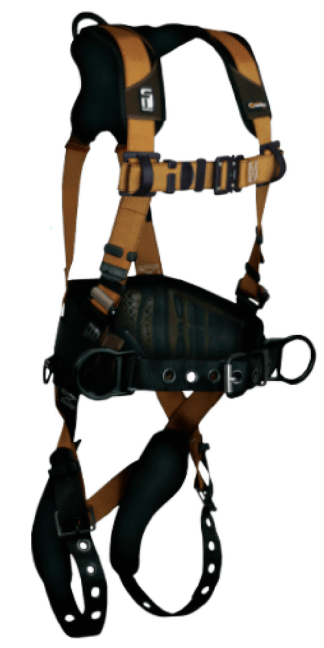 FALLTECH 7081B Construction Belted Harness