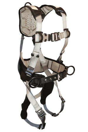 FallTech 7089 Flowtech Full Body Harness with Construction Belt