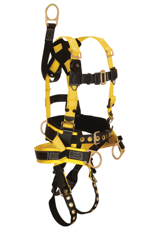 FallTech 8021 RoughNeck Derrick 4-D Full Body Harness with Belt