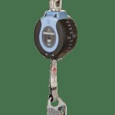 FallTech 82706SB1 6ft Web SRD Single-leg Steel Carabiner+Steel Snap Hook