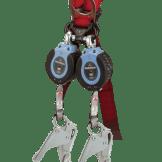 FallTech 82706TB5 DuraTech®  Twin 6ft Compact Web SRL Aluminum Rebar Hook leg-end Connectors