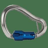 "FallTech 8466A Medium Aluminum Twist Lock Carabiner 7/8"" Gate Opening"