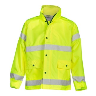 ML Kishigo 9665J Lime Storm Stopper Rainwear Jacket