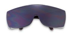 MCR 98150 Yukon Welding Safety Glasses - Green 5.0 Coated Lens