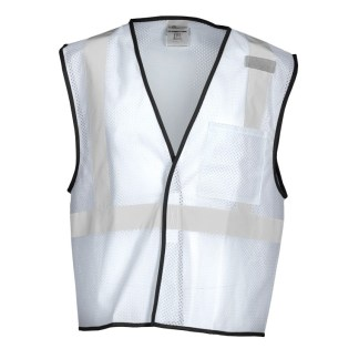 ML Kishigo B124 Enhanced Visibility White Mesh Vest