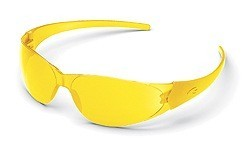 MCR CK1 CK114 Amber Safety Glasses