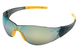 MCR CK2 CK22Y Banana Yellow Mirror Lens Safety Glasses