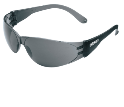 CL112 Checklite Safety Glasses Gray Lens