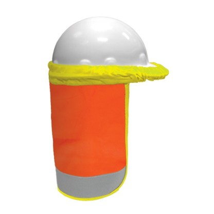 ML Kishigo F2801 Orange FR Hard Hat Sun Shield