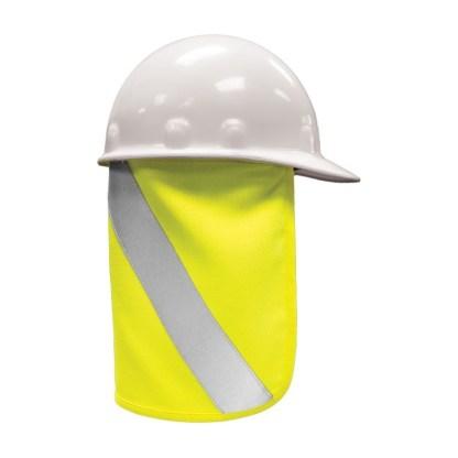 ML Kishigo F2802 Lime FR Hard Hat Nape Protector