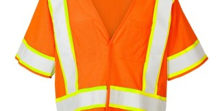 ML Kishigo F313 Class 3 FR Pro Series Orange Vest