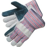 Liberty Gloves 3581Q Select Jointed Double Leather Palm Gloves, Dozen