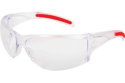 HK110 Hellkat Clear Leans Safety Glasses