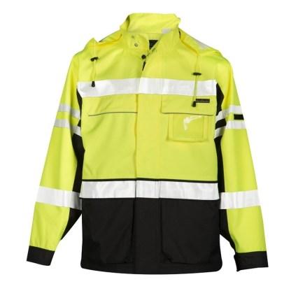 ML Kishigo JS135 Premium Black Series 2 in 1 Lime Jacket