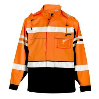 ML Kishigo JS136 Premium Black Series 2 in 1 Orange Jacket