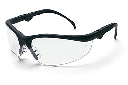 Klondike Clear Lens Magnifier Safety Glasses