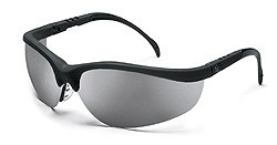 MCR KD117 Klondike Silver Mirror Lens Safety Glasses